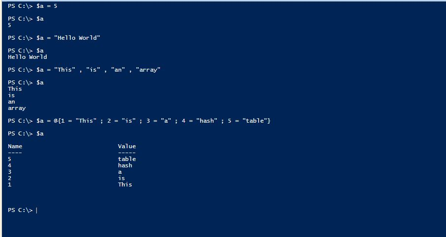 PowerShell Assignment Operators - 1