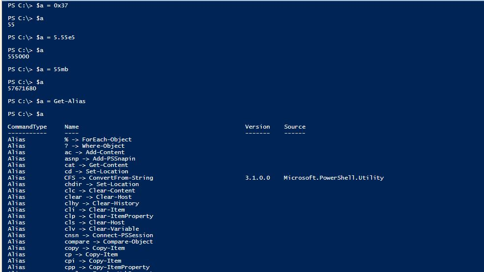 PowerShell Assignment Operators - 2