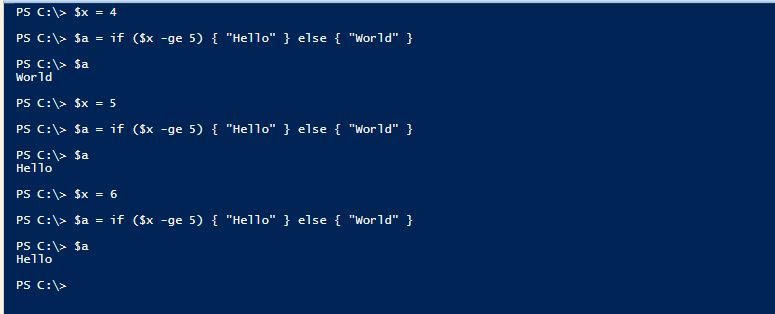 PowerShell Assignment Operators - 3