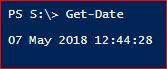 PowerShell Date Format