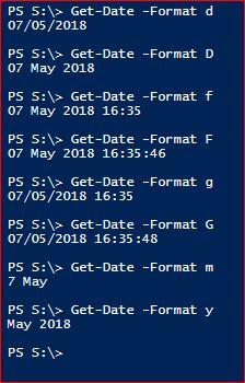 Date Standard Formats