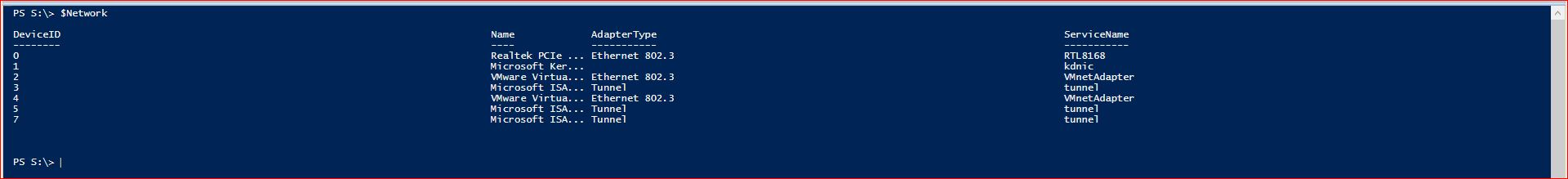 PowerShell Format Output View