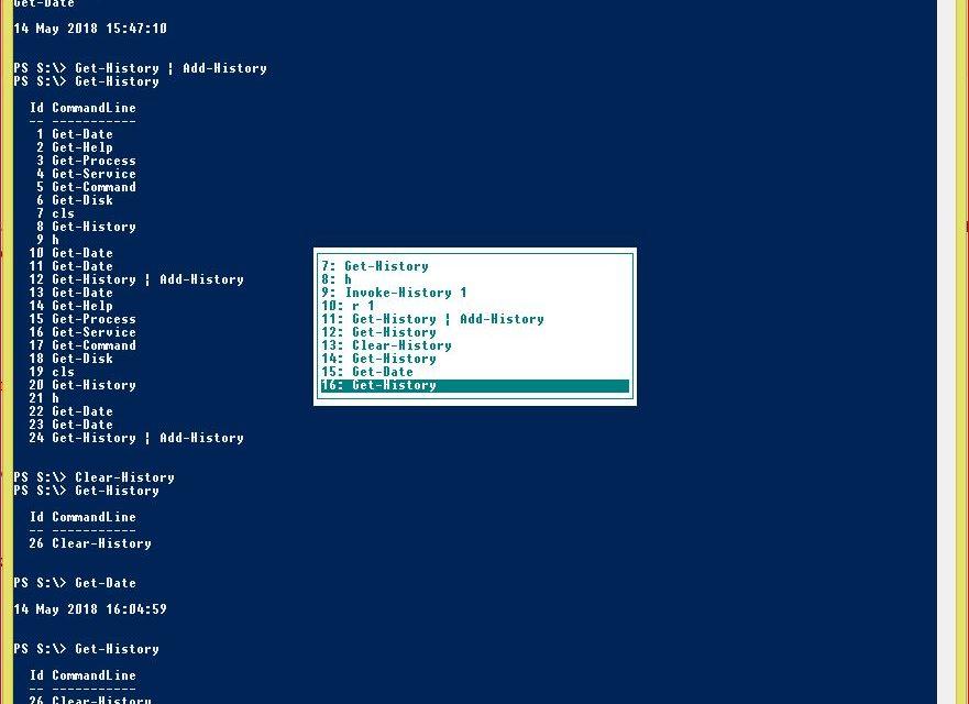 PowerShell Command History