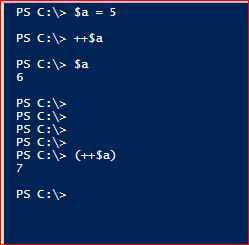 PowerShell Assignment Operators - Increment