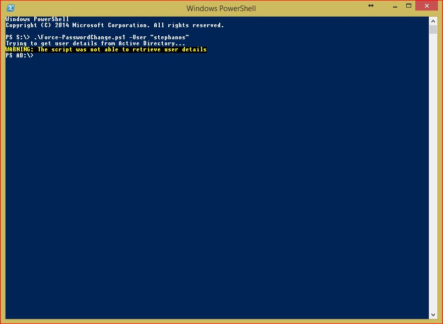 PowerShell Force Password Change Multiple Users - User
