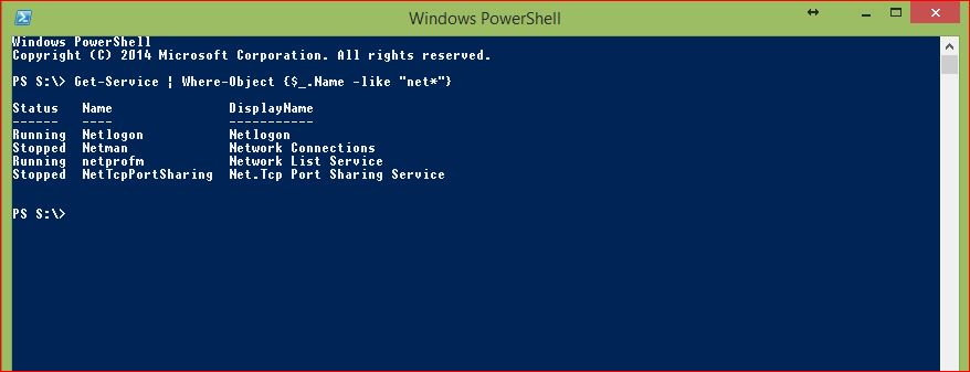 PowerShell Wildcards - Example 1 - Asterisk