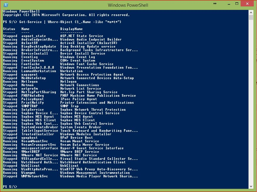 PowerShell Wildcards - Example 3 - Asterisk