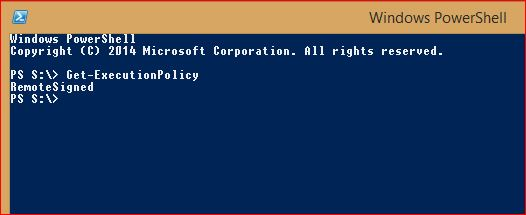 PowerShell Execution Policy - 1