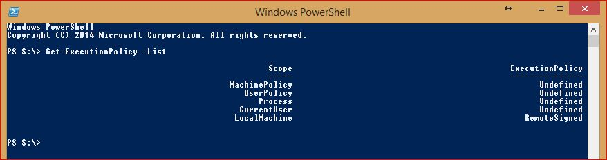 PowerShell Execution Policy - 2