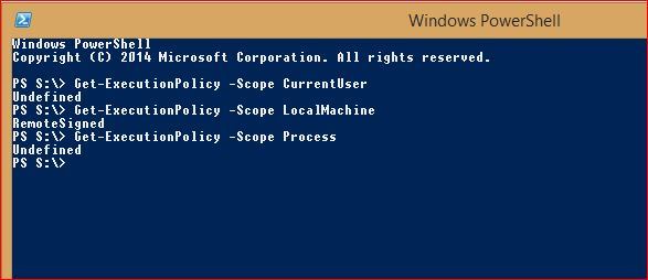 PowerShell Execution Policy - 3