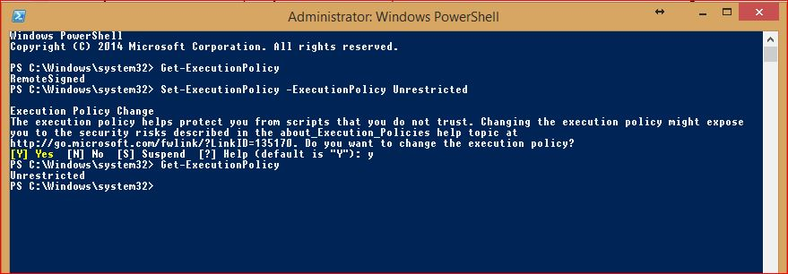 PowerShell Execution Policy - 4
