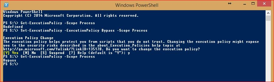 PowerShell Execution Policy - 6