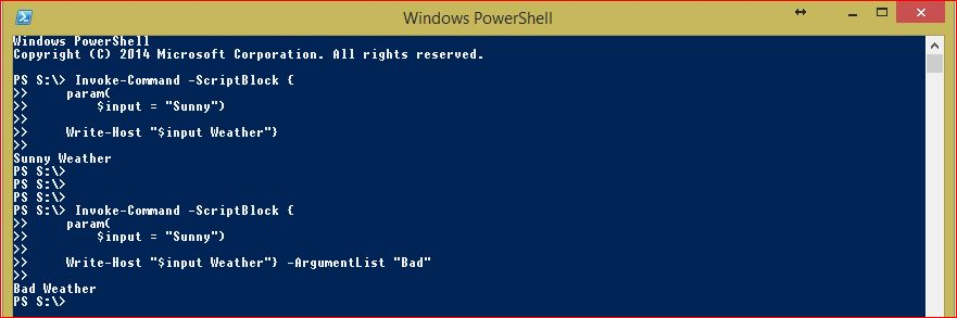 PowerShell Script Blocks - Example 2