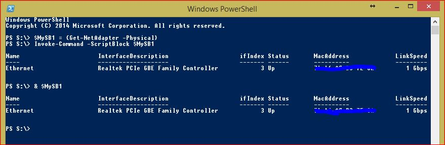 PowerShell Script Blocks - Example 3