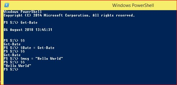 PowerShell Automatic Variables - Example 1