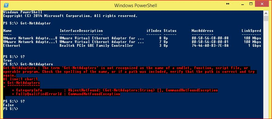 PowerShell Automatic Variables