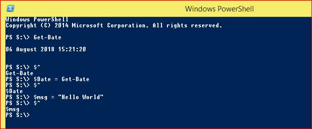 PowerShell Automatic Variables - Example 3