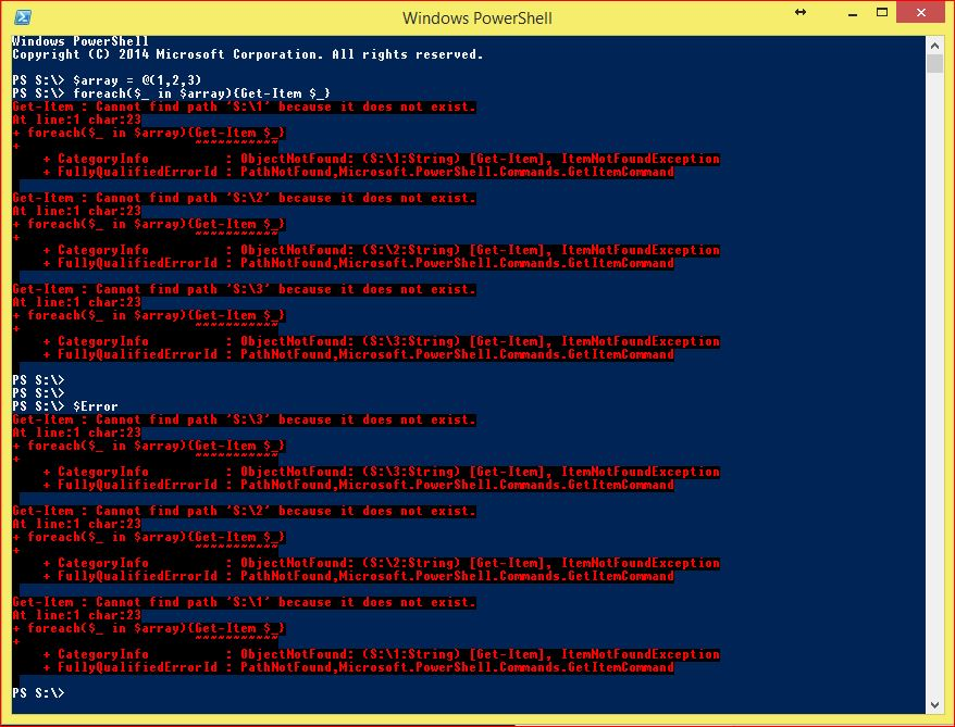 PowerShell Automatic Variables - Example 7