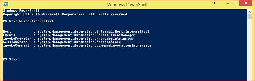 PowerShell Automatic Variables - Example 8