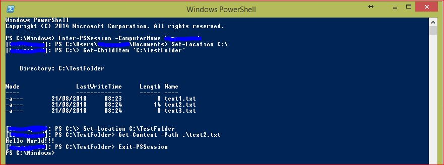 PowerShell Remoting - 3