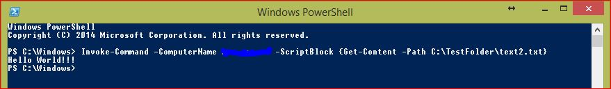 PowerShell Remoting - 4