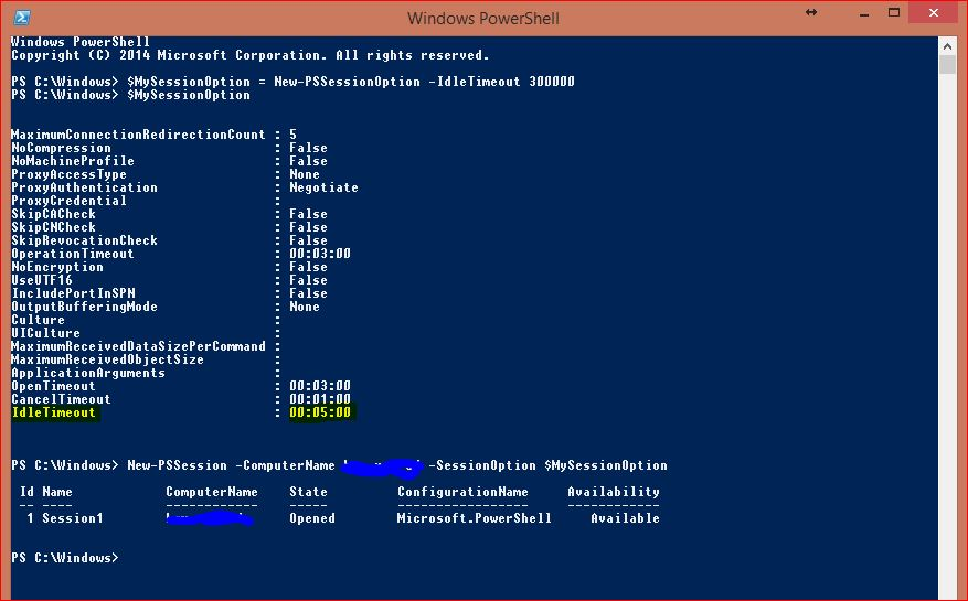 Windows PowerShell Sessions - PSSessions