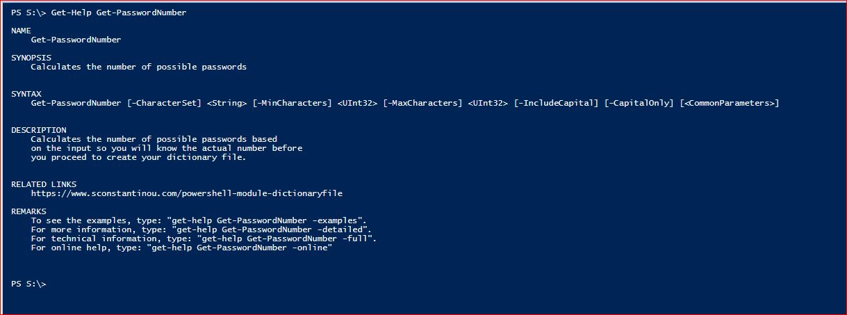 PowerShell Comments Based Help - 1