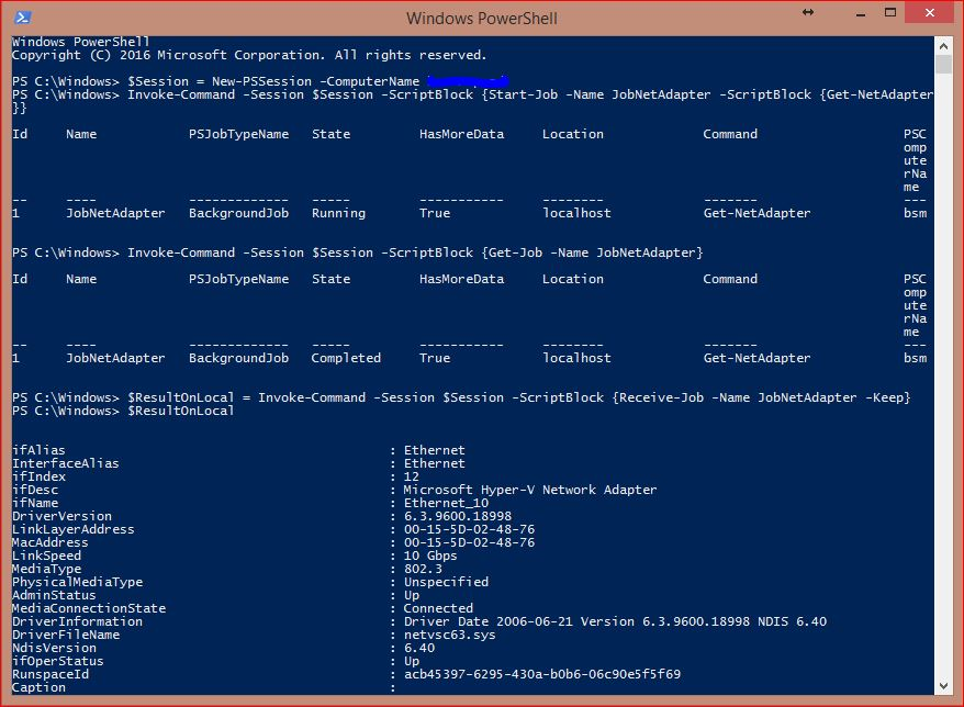PowerShell Jobs - Example 13