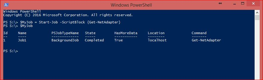 PowerShell Jobs - Example 2