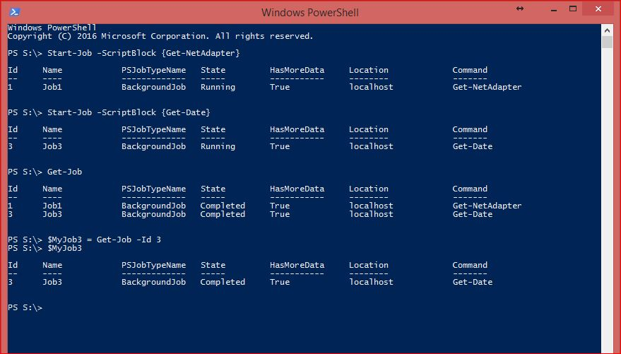 PowerShell Jobs - Example 3