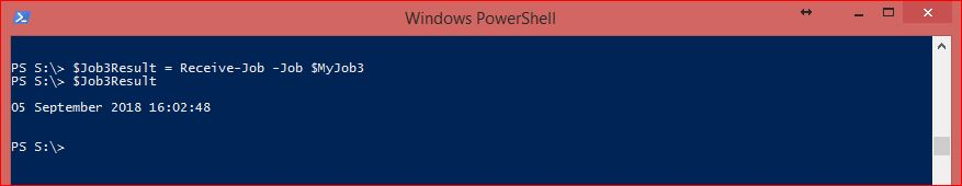 PowerShell Jobs - Example 4-1