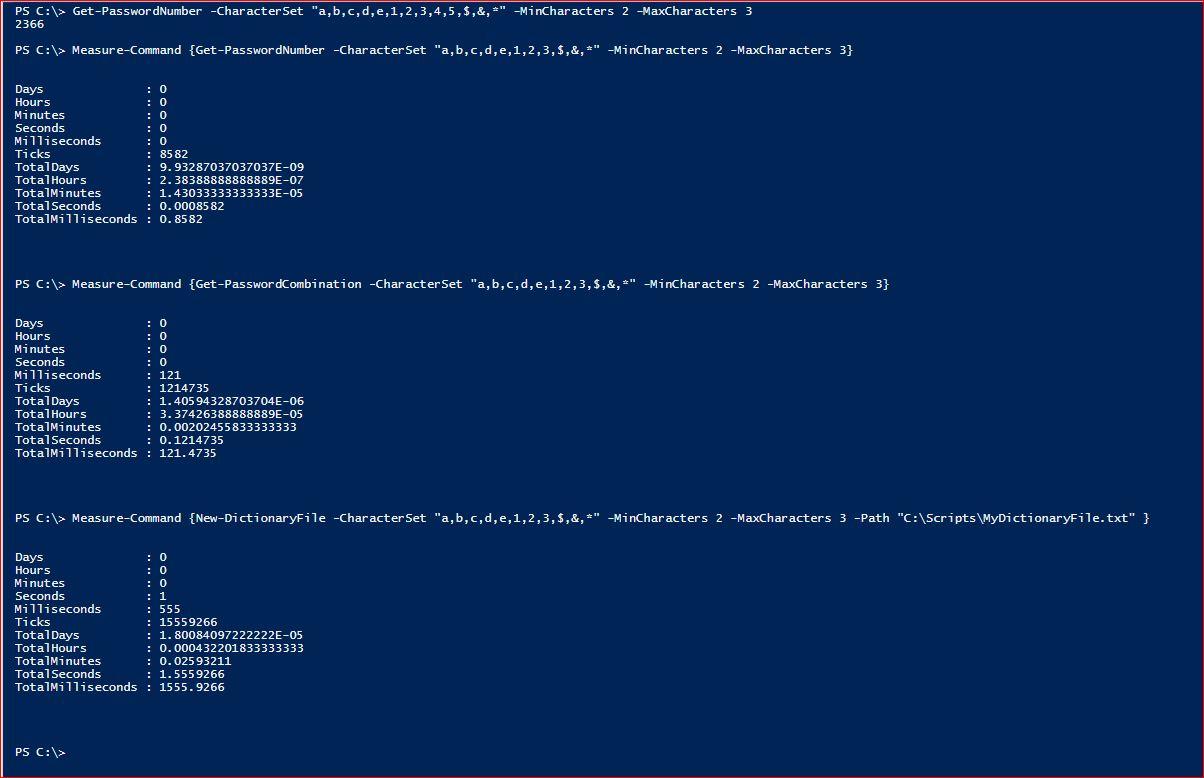 PowerShell Module DictionaryFile v 2.0