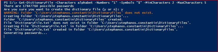 PowerShell Module DictionaryFile - Get-DictionaryFile - Example 5
