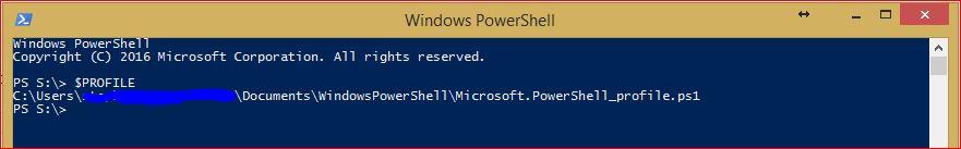 PowerShell Profiles 1