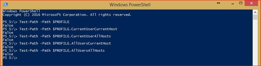 PowerShell Profiles 3