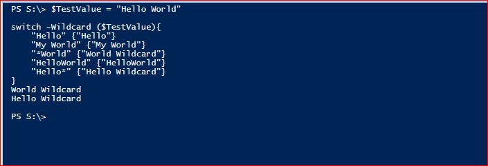 PowerShell Switch - Example 6