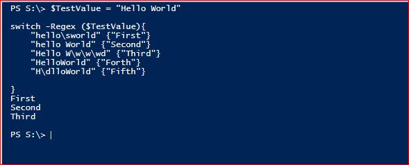 PowerShell Switch - Example 8