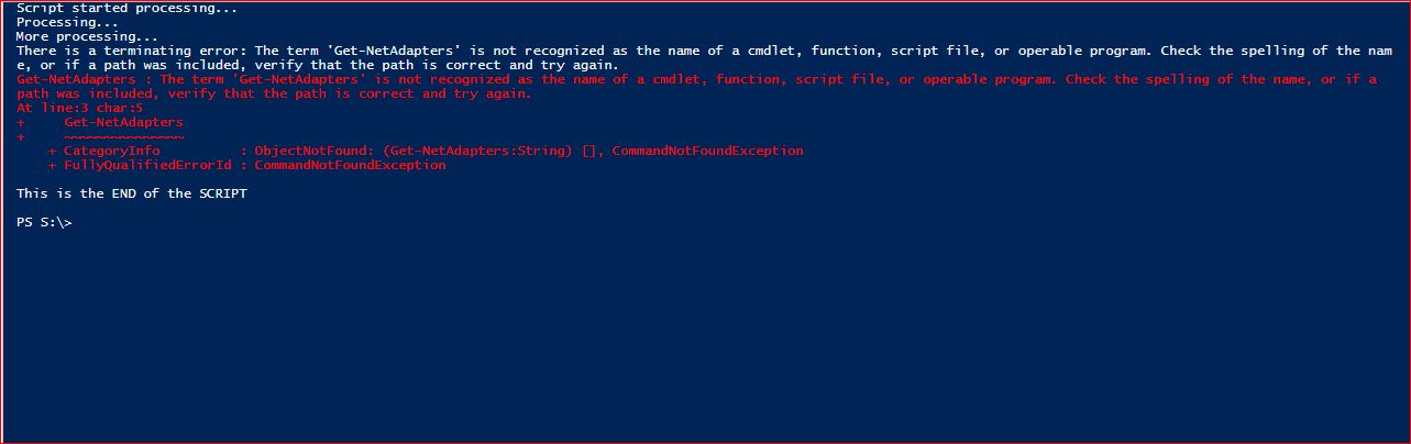 PowerShell Trap - Example 6