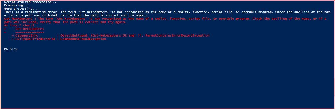 PowerShell Trap - Example 7