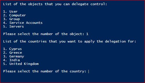 PowerShell Active Directory Delegation – Part 1